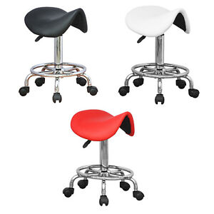 Saddle Massage Chair Stool Spa Beauty Manicure Therapy Tattoo Hairdressing Salon