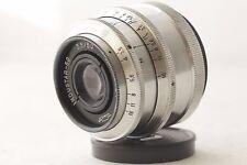 Industar-50 50mm 3.5 soviet vintage Lens Russian Silver M39 + adapter ring M42