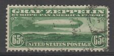 US  # C13 VF used Zeppelin stamp cv= $ 175