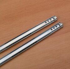 2 Schubladenschienen 278 x 17  mm Schubladenauszug Auszugschienen Teleskopschien