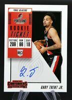 2018-19 Contenders GARY TRENT JR. #125 Rookie Ticket On Card Auto RC RAPTORS 🔥