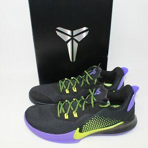 Nike Mamba Fury Joker Mens 12 Kobe Bryant Deadstock Black/Lemon Shoes CK2087-003