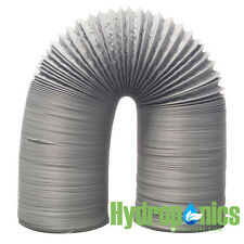 NEW Premium Gray PVC Ducting Combi 4 inch x 25 ft FREE SHIPPING