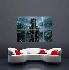 TOMB RAIDER XBOX ONE ps4 ps3 gioco pc NUOVO GIGANTE wall art print poster oz1136