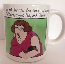 Murray Coffee Mug Cup Each Day Eat From the Four Basic Food Groups: Caffeine...