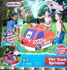 Little Tikes Fire Truck Sprinkler, Multi Direction Spraying Fun, Ages 3 - 6yrs