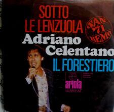 """7"""" 1971 RARE! Adriano CELENTANO Sotto le lenzuola è VG +?"""