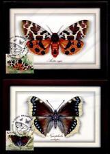 Schmetterlinge. 4 Maximumkarten. Weißrußland 2016