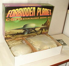 % 2001 POLAR LIGHTS FORBIDDEN PLANET C-57D STARCRUISER MODEL KIT MINT IN BOX