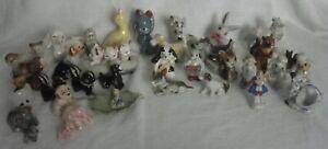vintage porcelain figures lot of 37