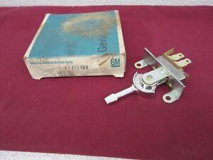 NOS 1975-1979 Skylark Nova Omega A.C. & Heater Blower Control Switch 463480   dp