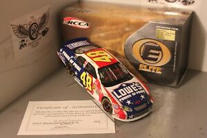 2003 Jimmie Johnson Power of Pride 1/24 Action RCCA Elite Diecast Autographed
