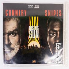 Rising Sun Laserdisc 1993 - 2 discs - Widescreen w/ Dust Jacket