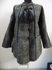Antique Hutsul woolen overcoat Baybarak 1920s Ukraine Kolomyia Great condition