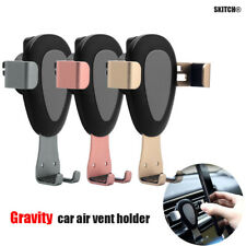 Gravity Car Holder Air Vent Outlet Stand Mount Universal For 4-6 Inch Phone Lot