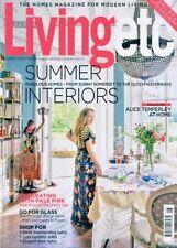 LIVING ETC AUGUST 2018 ~ SUMMER INTERIORS ~ NEW ~
