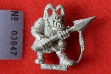 Citadel Warhammer Giant Black Orcs 90s Metal Figure Orc Marauder Miniatures MM27