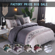 All Size Floral Duvet/Doona/Quilt Cover Set Double Queen King Bedding LInen Soft