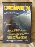 "One Nation ""World Domination"" Ltd Ed 2003 Drum & Bass Rave Tape 8 Pack RARE D&B"