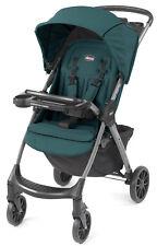 Chicco Mini Bravo Plus Lightweight Quick Fold Baby Stroller Eucalyptus NEW