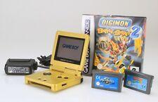 Nintendo Game Boy Advance SP Version ORIGINAL Zelda + 3 jeux    (Lot Réf S-115)