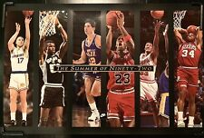 MICHAEL JORDAN NBA SUMMER OF 1992 POSTER VINTAGE CHARLES BARKLEY