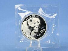 China 10 Yuan 2004 , Panda Bär , 1 oz 999 Silber *st* in OVP Folie verschweißt