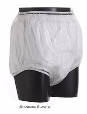 Adult Size Polyurethane Incontinent Pants-Size Medium