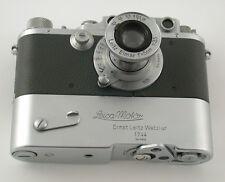 LEICA IIIb grey grau Luftwaffen-Eigentum Elmar 3,5/50 1940 WW II DREAM condition
