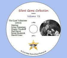"DVD ""The Last Volunteer"" (1914) Irving Cummings, Eleanor Woodruf, Classic Drama"