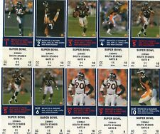 1998 1999 WORLD CHAMPION DENVER BRONCOS TICKET STUB  - JOHN ELWAY - PICK ONE