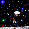 2x3m LED RGB DMX 8CH lampada stella Tenda Natale Festival Fata decorazione Party