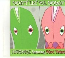 (DR579) Hardage Featuring Maxi Priest, Don't Let Me Down - 2009 DJ CD