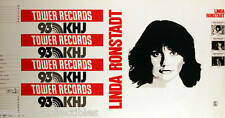 Linda Ronstadt Rare Original Vintage Tower Records Bookcover Poster