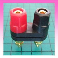 High Quality Dual Binding Posts Gold-Plated connections - Insulated Mounting