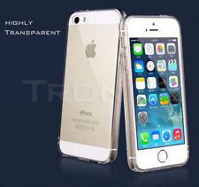 Unbranded/Generic Transparent Rigid Plastic Mobile Phone Cases, Covers & Skins for iPhone 5c