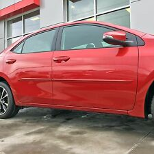 BODY SIDE Moldings PAINTED Trim Mouldings For: TOYOTA COROLLA 2014-2017