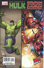 INCREDIBLE HULK IRON MAN SAMPLER 1 RARE 2008 GIVEAWAY PROMO MARVELKIDS.COM NM