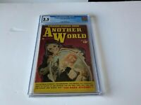 STRANGE STORIES FROM ANOTHER WORLD 3 CGC 3.5 SKELETON PRE CODE FAWCETT COMICS