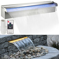 450mm Waterfall WATER BLADE Cascade Koi Fish With LED Strip Light