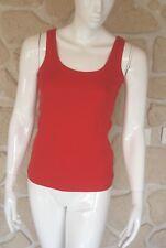 Débardeur rouge neuf taille XXL marque Pure Cotton étiqueté à 16,50€ (ng)
