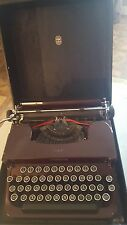 ANTIQUE VINTAGE 1931 MANUAL SMITH CORONA FLATTOP PORTABLE TYPEWRITER (SALE)
