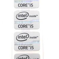 5pcs  NEW inter inside CORE i5 vPro 21*15.5mm  Badge Sticker labels Black ST076