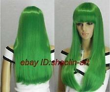 Code Geass - Lelouch of the Rebellion C.C. animation Cosplay cheveux perruques