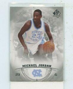 MICHAEL JORDAN 2013-14 Upper Deck SP Authentic #15 North Carolina Tar Heels