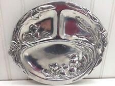 Arthur Court 1998 Duck Ducklings Eggs Divided Baby Plate Easter 23166
