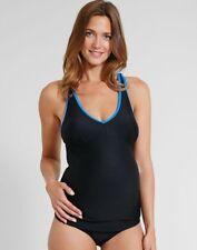 5274917a4581d Emma Jane Maternity Tankini Swimsuit Pregnancy Swim Black Blue 10-12 or  14-16