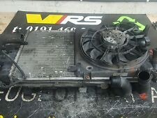 04 11 VAUXHALL ASTRA 1.7CDTI 16V 100BHP RADIATOR AND COOLING FAN #372 REF CU140
