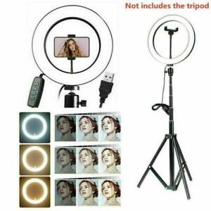 """10"""" LED Selfie Ring Light with Tripod Stand Phone Holder For Makeup Best UK"""