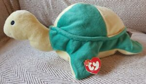 VINTAGE Ty Pillow Pal - Snap The Turtle